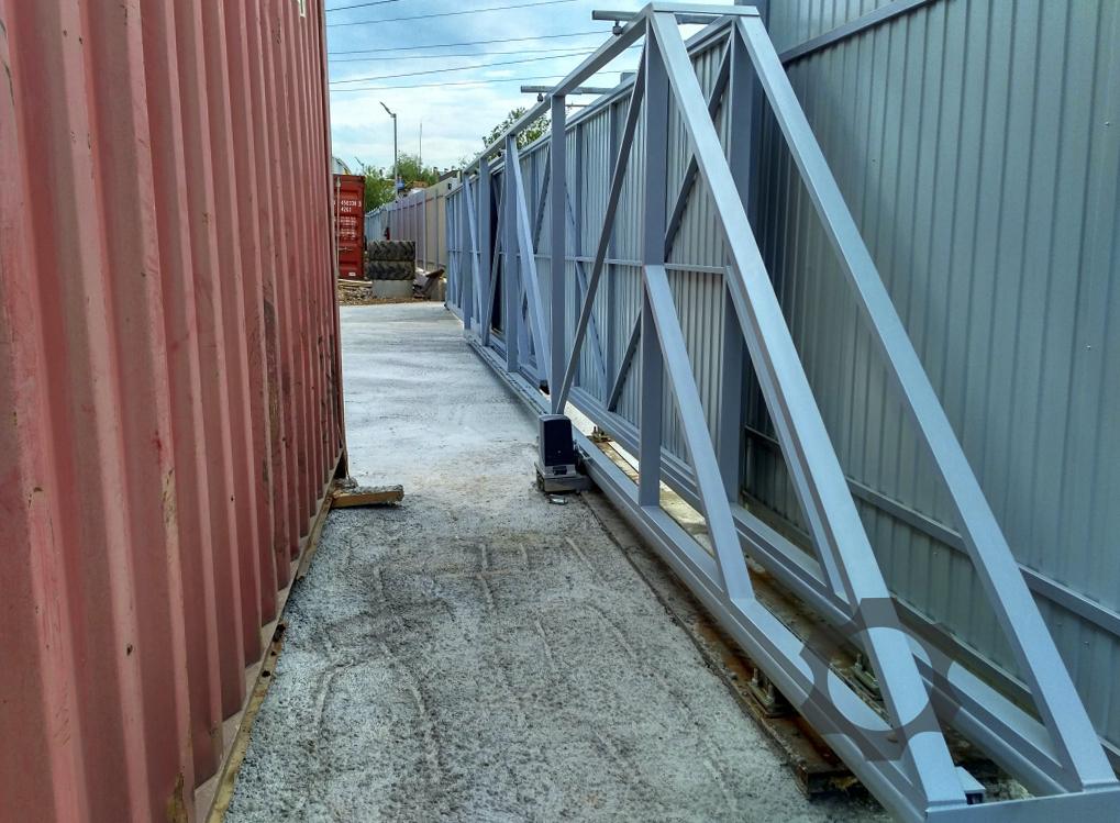 Что такое телескопические ворота ролики для откатных ворота