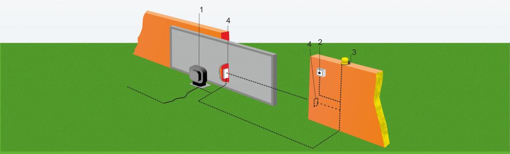 Схема проводки электрических