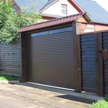 Алюминиевые рулонные ворота